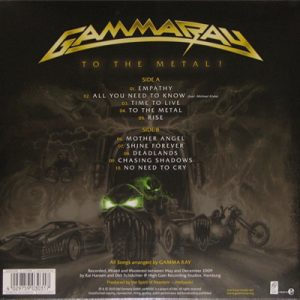 2010 – To The Metal – Lp.