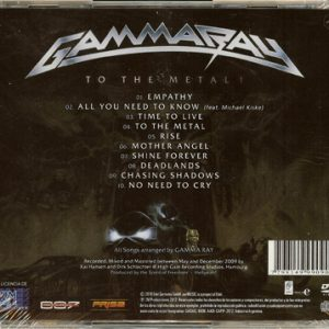 2010 – To The Metal – Cd – Argentina.