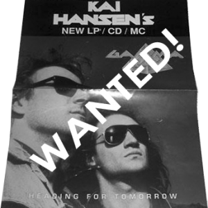 WANTED: 1990 – Heading For Tomorrow – Promo Poster.