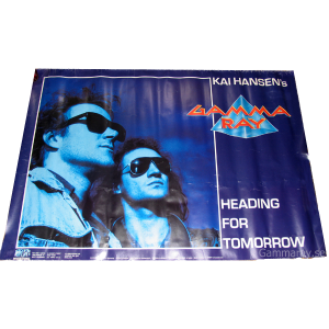 1990 – Heading For Tomorrow – Promo Poster.