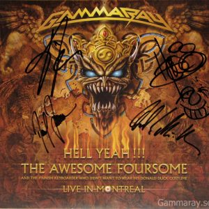 2008 – Hell Yeah!!! The Awesome Foursome – Lp size Poster.