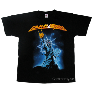 Land Of The Free II –  Metal Is The Real Freedom – T-shirt.