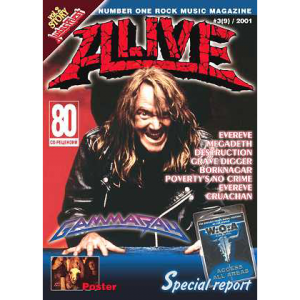 WANTED: Alive – Russia Magazine – Nr3 – 2001.