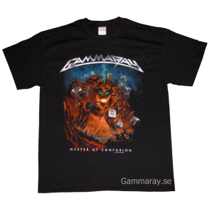 Hellish Rock Tour Part II – Master Of Confusion – T-shirt.