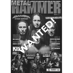WANTED: Metal Hammer Magazine – March – 2014.