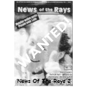 WANTED: News Of The Rays – Nr 2 – Germany.