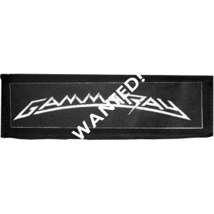 WANTED: Gamma Ray Logo Patches.