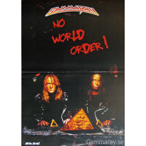 No World Order Poster From Metal Heart Magazine.