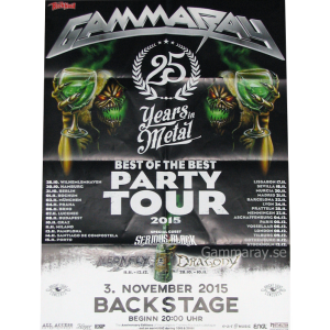 2015 – Best Of The Best Party Tour 2015 Poster.