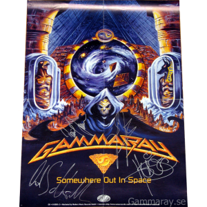 1997 – Somewhere Out In Space – Poster.