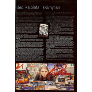 Sweden Rock Magazine – Nr30 – 2005 – Article About Me In The Magazine.