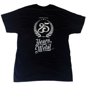 Best Of The Best Party Tour – 25 Years in Metal – T-shirt.