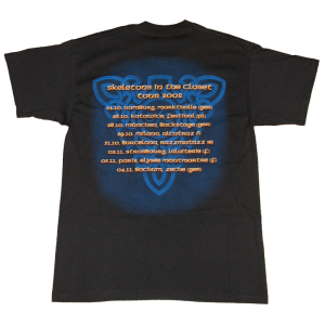 Skeletons In The Closet – Tour 2002 – T-shirt.