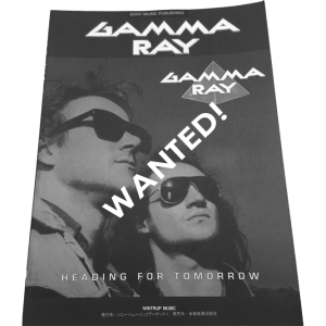 WANTED: Heading For Tomorrow – Japan – Band Score Tab.