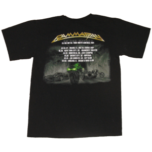 T-Shirt – To The Metal Tour North America 2011.
