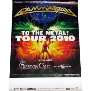 2010 – To The Metal Tour 2010 – Poster.