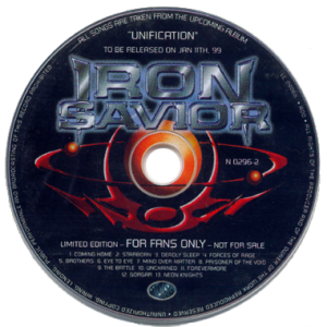 1998 – Unificaton – Promo – Cd – For Fans Only.