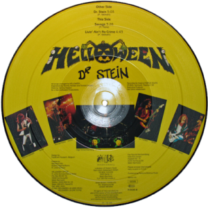 1988 – Dr Stein – Ep – Picture Disc.