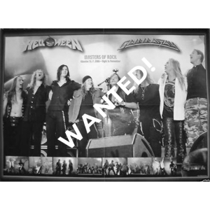 WANTED: Gamma Ray & Helloween Poster –  From Czech Magazine Spark.
