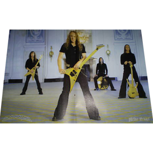 WANTED: Majestic Poster From Metal Heart Magazine – Germany.