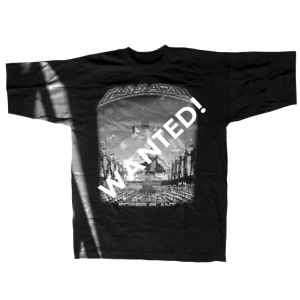 WANTED: PowerPlant – T-shirt.
