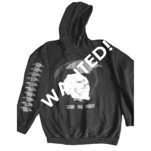 WANTED: Sigh No More – Tour 1991 – Hoodie.