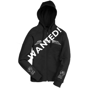 WANTED: Best Of The Best – South America Tour 2015 – Zip Hoodie.