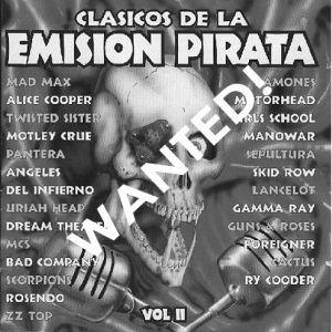 WANTED: 1997 – Clásicos De La Emisión Pirata Vol 2 – Cd.