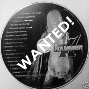 WANTED: 2006 – Metal Hammer Nr 17 – Cd.