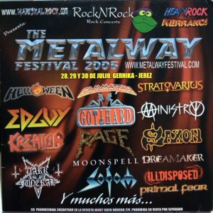 WANTED: 2006 – The Metalway Festival 2006 – Cd.