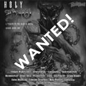 WANTED: 1999 – Holy Dio – Promo Cd.
