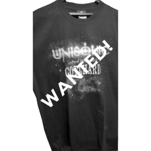 WANTED: Unisonic Japan Tour 2012 – T-shirt.