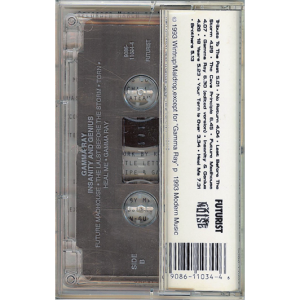 1993 – Insanity And Genius – Tape – Usa.