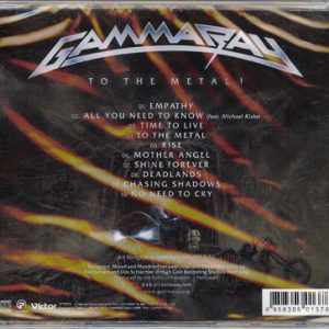 2010 – To The Metal – Cd – Taiwan.
