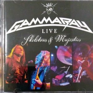 WANTED: 2012 – Skeletons and Majesties Live – 2Cd – Brazil.