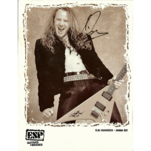 Kai Hansen – ESP Promo Photo.