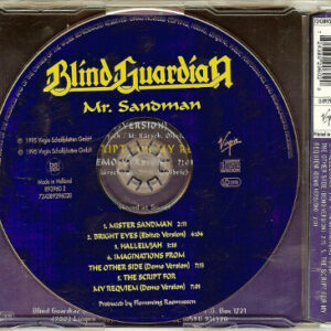1995 – Mr Sandman – 5 Track Cds – Multimedia Track – Signed