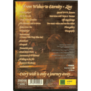 2002 – From Wishes To Eternity – Dvd