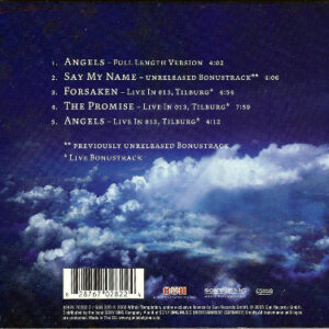 2005 – Angels – Cds – Limited 5 Track EP – Digipack