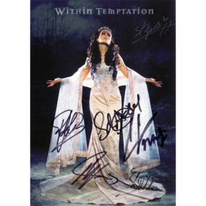 Signed – Ice Queen Promo Card