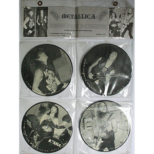 1987 – A Rare Interview With Metallica – 4st 7″ Picture Disc.