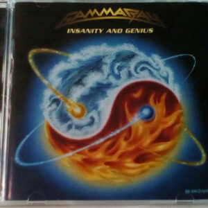 WANTED – 2005 – Insanity And Genius Cd – Different Back Cover.