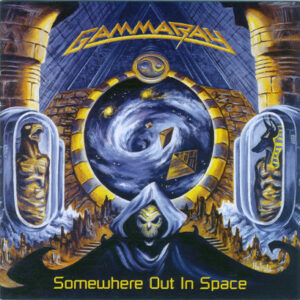 WANTED – 1997 – Somewhere Out In Space – Cd. Different back cover.