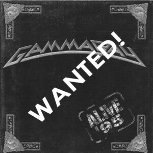 WANTED – 1996 – Alive 95 – Cd – Argentina.