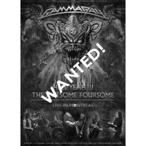 WANTED – 2008 – Hell Yeah!!! The Awesome Foursome – 2DVD – Brazil.