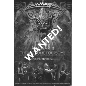 WANTED – 2008 – Hell Yeah!!! The Awesome Foursome – 2DVD.