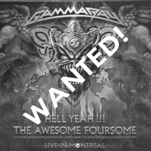 WANTED – 2009 – Hell Yeah!!! The Awesome Foursome – 2Dig – Mexico.