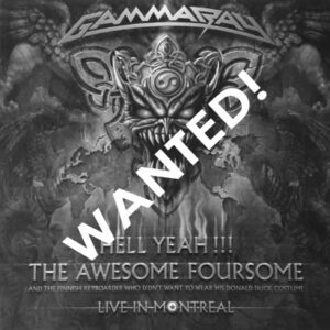 WANTED – 2008 – Hell Yeah!!! The Awesome Foursome – 2Cd – Ukraine.