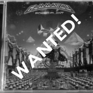 WANTED – 2005 – PowerPlant (+3 B Tracks) – Cd. Different back cover.