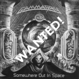 WANTED – 2005 – Somewhere Out In Space Cd (+3 Bonus Tracks) – Brazil.